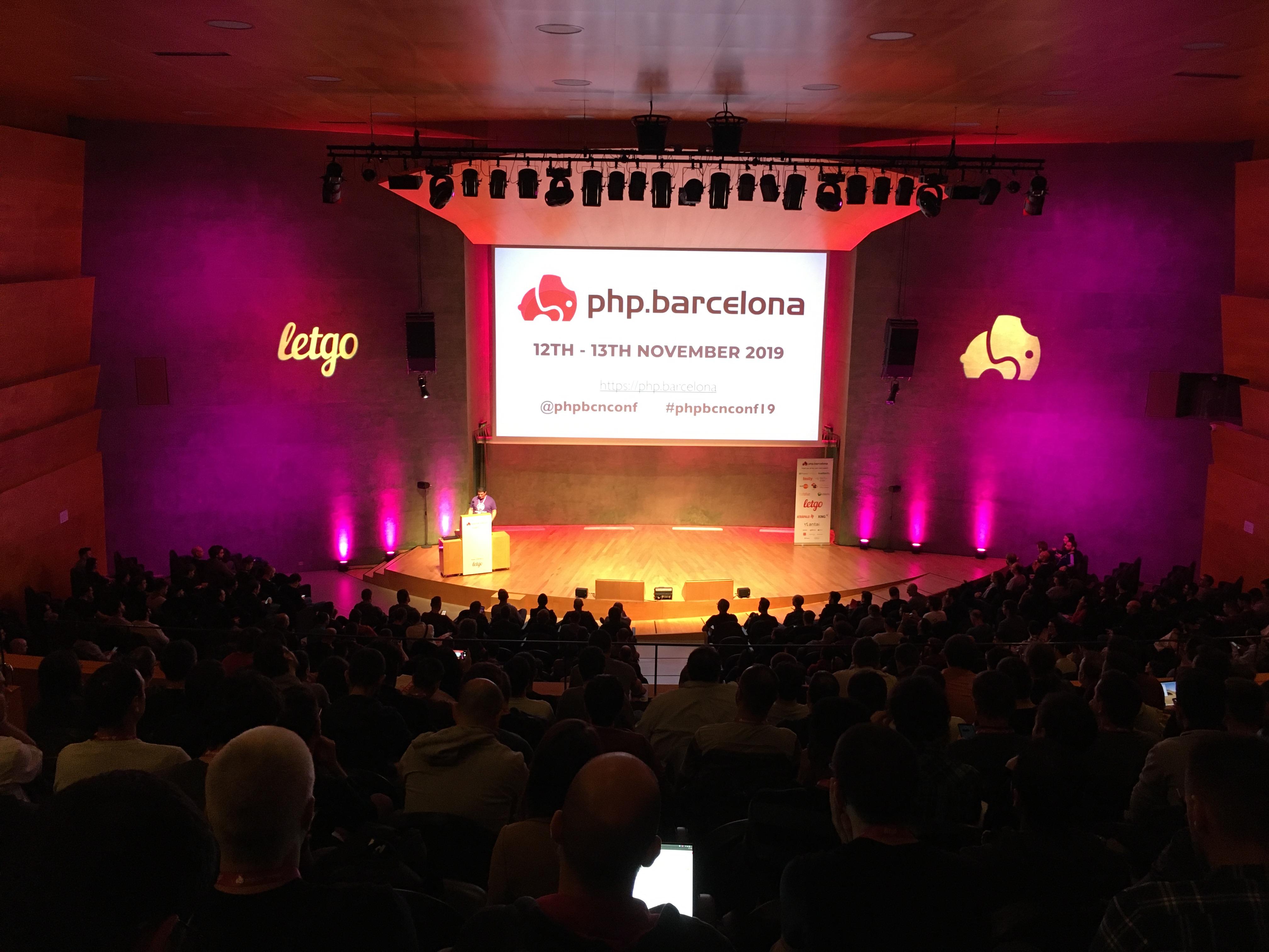 PHP Barcelona 2019 – Día 1